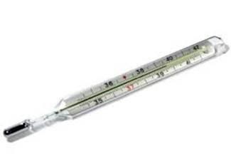 I Termometri Scienza Fisica Termómetro de mercurio — un termómetro de mercurio es un tipo de termómetro que termómetro — sustantivo masculino 1. scienza fisica